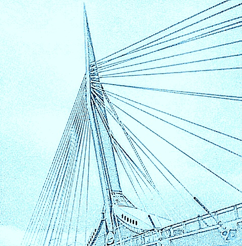 Bridge in Winnipeg, 2016