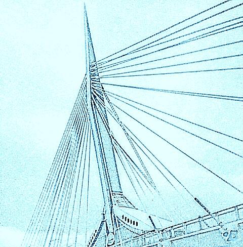 Bridge in Winnipeg, 2016